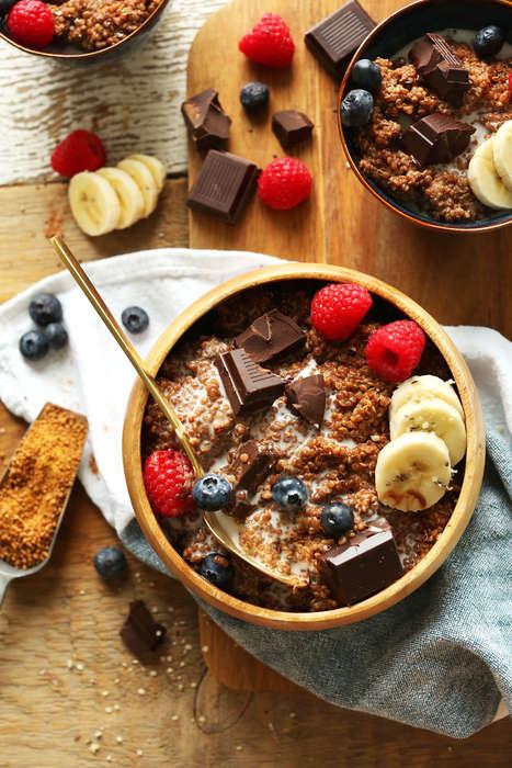 Chocolatey Breakfast Bowls