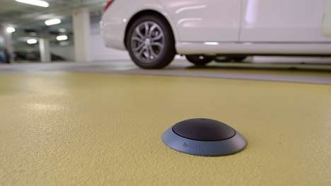 Informative Parking Sensors - These Bosch Sensors Alert Drivers to Vacant Parking Spots