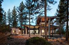 Contemporary Rustic Homes