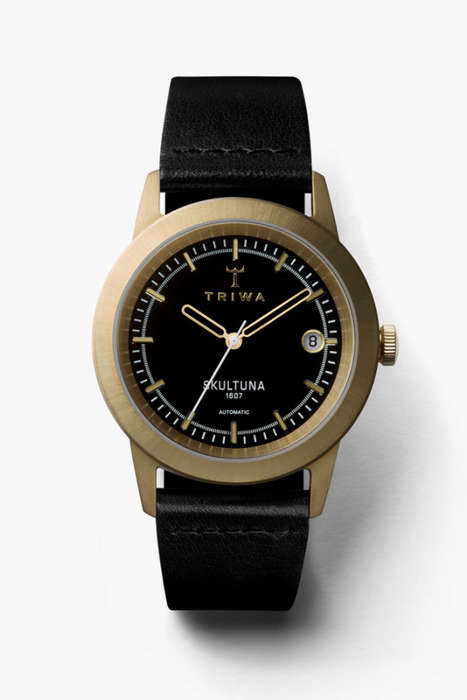 Contemporary Brass Timepieces