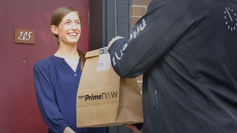 Crowdsourced Package Deliveries - Amazon Flex Lets Car Owners Deliver Packages In Their Area