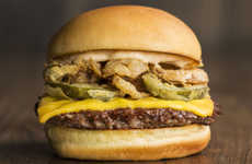 Celebrity-Inspired Burgers - This Specilty Burger Honors American Television Personality Rachael Ray