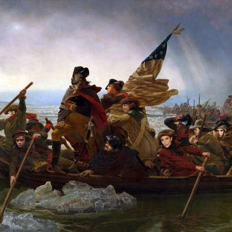 Historical Rapper Paintings - This Historical Painting Shows Kanye West as an Early American Hero