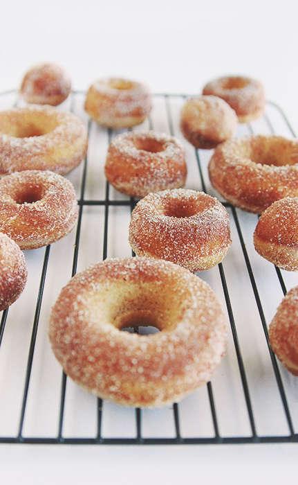 Baked Cider Donuts