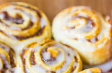 Pumpkin Cinnamon Rolls - This Autumn Dessert Recipe Makes a Fall-Flavored Snack Enjoyable All Season