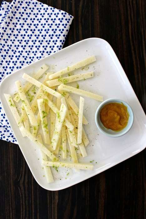 Mexican Turnip Fries