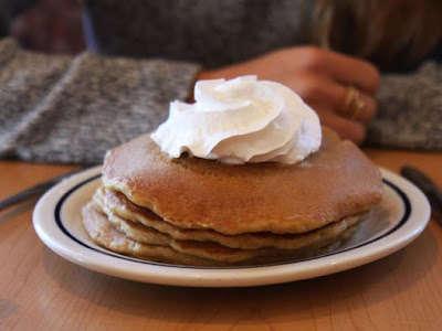 Fast Food Pumpkin Pancakes
