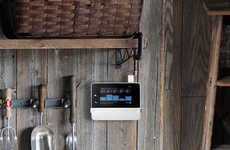 Eco-Friendly Irrigation Monitors - The RainMachine Will Watch the Weather Report to Save Water