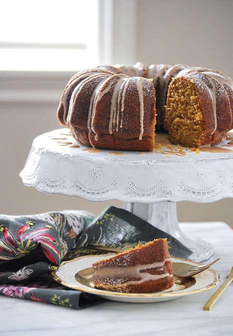 Pumpkin Bunt Cakes