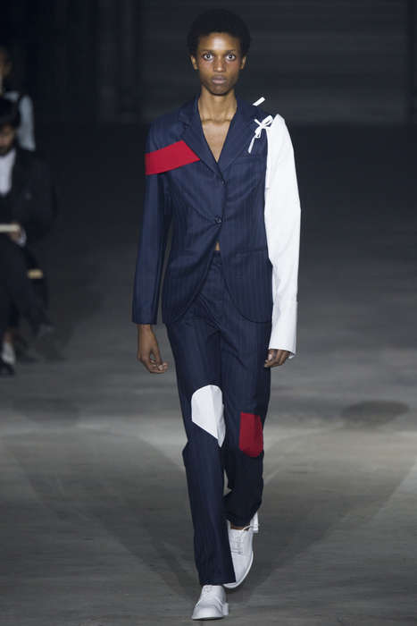 Contemporary Deconstructed Fashion - This Jacquemus Spring/Summer Line Offers Disheveled Couture