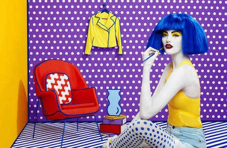 Pop Art Fashion Campaigns