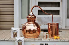 DIY Whiskey Kits - This Brewing Chamber from the Whiskey Still Company is Handcrafted