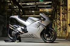 Fully Loaded Racing Motorbikes - The Suter MMX 550 Features a Two-Stroke Engine