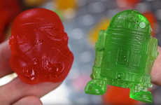 Customized Galactic Gummies - These Homemade Star Wars Candy Gummies Are Made from Chewy Bears