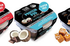 Low-Calorie Protein Puddings - The Slim Protein Pud are Single-Serve Desserts Filled with Chia Seeds