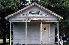 Abandoned Post Office Photography - 'Post Script' Depicts the Vanishing World of Postal Service