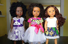Ethnically Diverse Dolls - Ikuzi Dolls Offer Little Girls Options When it Comes to Toys