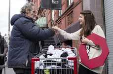 Homeless-Helping Sock Companies - This Non-Profit Organization Provides Socks for the Homeless