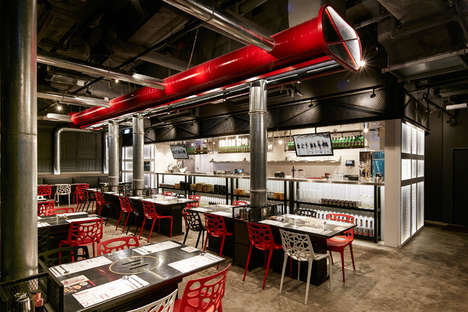 Food Factory Eateries - This Korean BBQ Restaurant was Designed by ARTTA Concept Studio