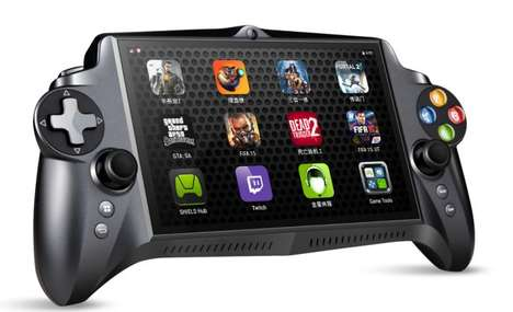 Button-Embedded Gaming Tablets