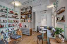 Hybrid Bookshop Cafes - This Quaint Istanbul Bookshop Has a Cafe and Swingsets