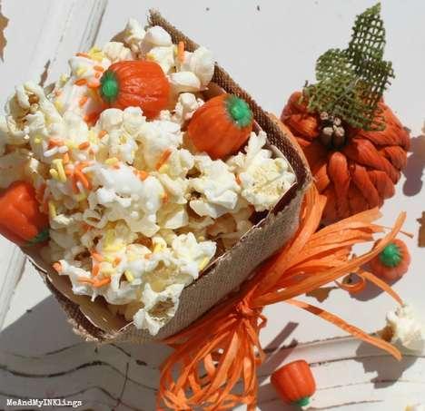 Festive Candied Popcorn