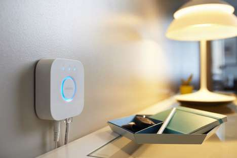 Ambient Lighting Devices - The Philips Hue Bridge 2.0 Features Voice Control Via Siri Connectivity