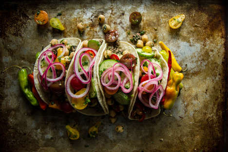 Greek-Themed Tacos - These Tostadas Draw Inspiration from Multiple Worldly Cuisines