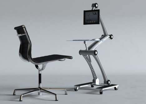 Skeletal Standing Desks