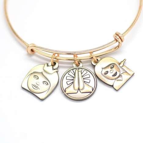 Custom Emoji Charm Bracelets