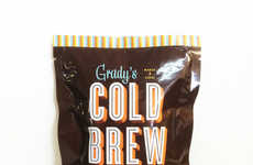 Tea-Inspired Cold Brew Pods - Grady's Cold Brew Reinvents Coffee Packaging With an Eco Option