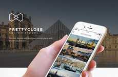 Digital Concierge Services - The 'Prettyclose' Site is a Social Lifestyle Network for Avid Travelers