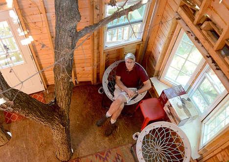 Three-Storey Treehouses