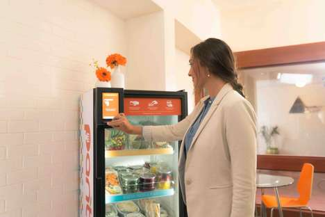 Fresh Food Vending Machines - This Machine Ensures That Fresh Meals are Accessible to Everyone
