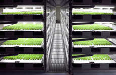 Robot-Run Indoor Farms