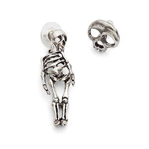 Macabre Skeletal Earrings