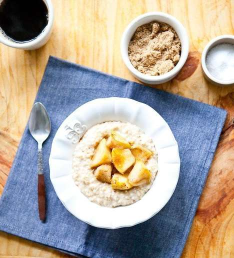 Cheesy Maple Oatmeals