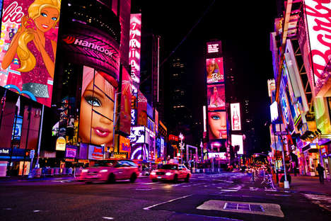 Barbie-Inspired Cityscapes