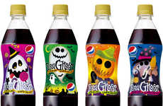 Mystery Flavored Sodas - This Halloween-Themed Pepsi Contains an Intriguing Mystery Flavor