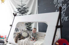 DIY Tent Bedding - This Terrific Teepee Bed Tutorial From Hello Bowser is Appropriate for Toddlers