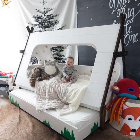 DIY Tent Bedding