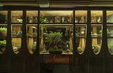 High-End Basement Bars - The Xaman Bar Serves Elegant Cocktails in an Eerie Mexico Building