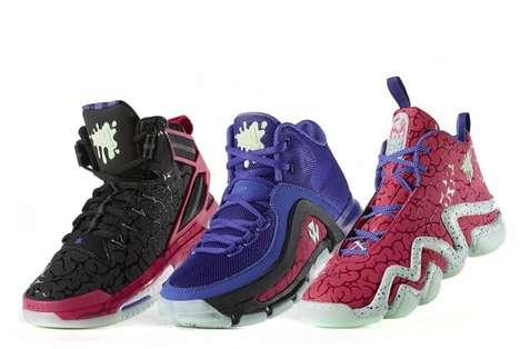 Brain-Patterned Sneakers