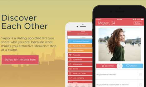 Curiosity-Based Dating Apps - This Matchmaking App Provides a New Way to Evaluate Other Users