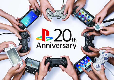 Gaming Console Anniversaries - PlayStation's #20YearsofPlay Campaign Looks Back Fondly