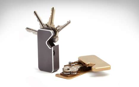 Sleek Magnetic Key Wallets