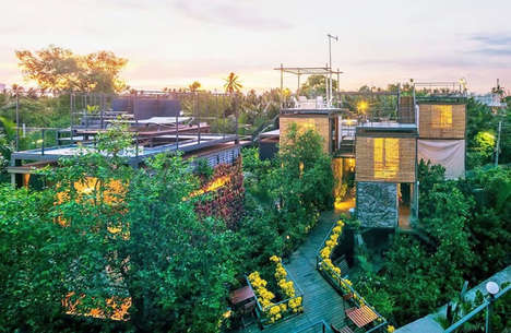 Outdoor Treehouse Resorts - The Bangkok Treehouse Resort Lets Guests Sleep Under the Stars & Foliage