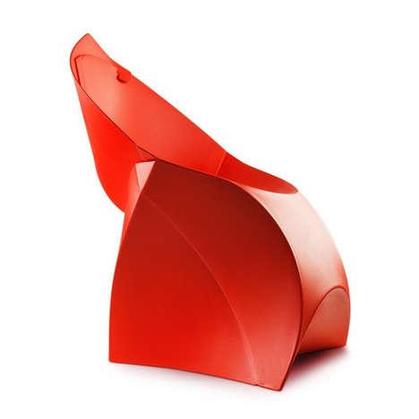Sculptural Folding Furniture