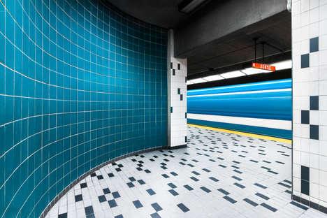 Artist-Adorned Subway Stations