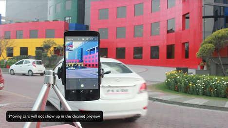 Motion-Sensing Photo Features